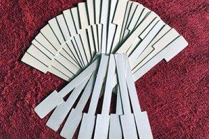 Моржовая и слоновая кость для изготовления накладок на клавиши пианино и роялей