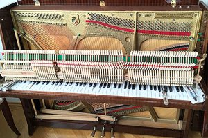 Ремонт капсюлей фортепиано