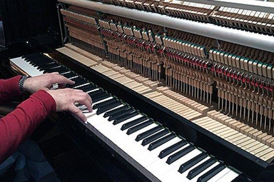 Важно вовремя настроить пианино