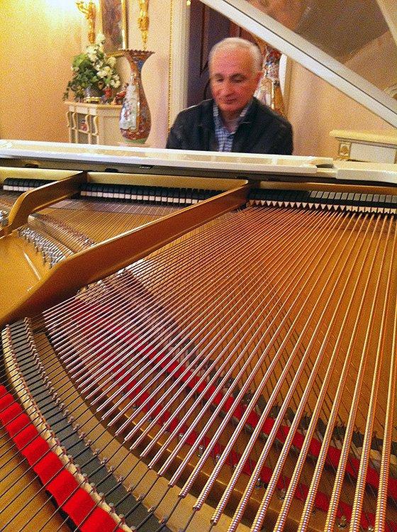 Мастер по ремонту пианино и роялей Матевосян Артур Суренович