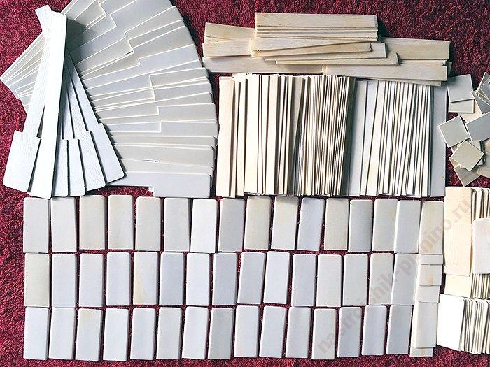 накладки для клавиатуры из слоновой кости