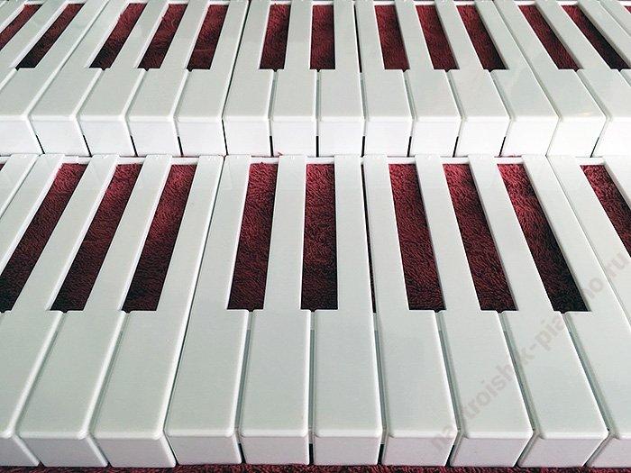 пластиковые накладки для клавиш фортепиано