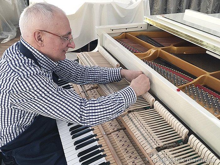 настройщик пианино и роялей Матевосян Артур Суренович