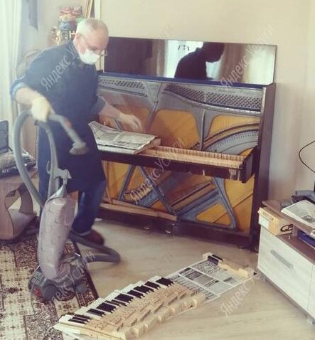 отзыв о работе настройщика пианино