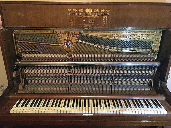 продажа раритетного пианино