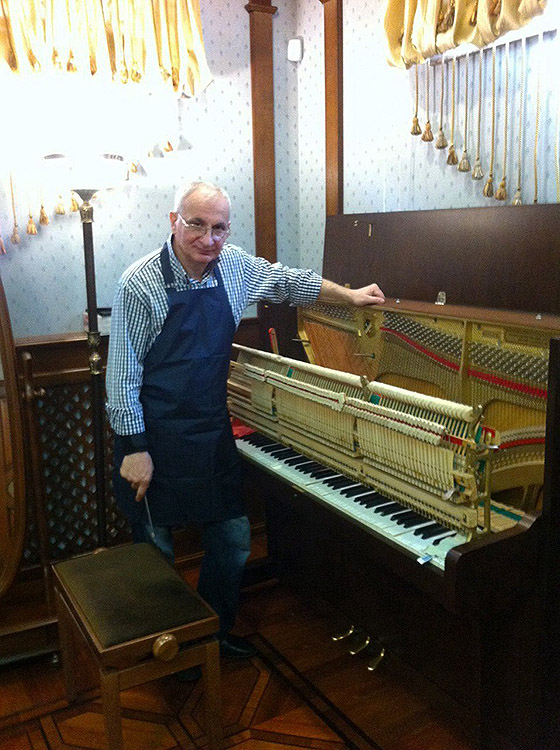 Мастер настройщик пианино Матевосян Артур Суренович
